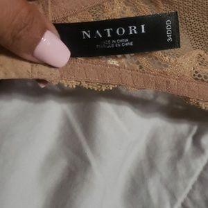 Natori Intimates & Sleepwear - Natori caramel lace bra 34DDD